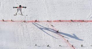 Doblete noruego en el trampolín grande de Sapporo, Prevc sexto