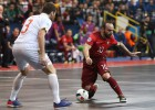 El gran gol de Ricardinho no bastó: Portugal, rival español