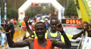 Dominio keniano con Álex Korio y Nancy Kripop como vencedores