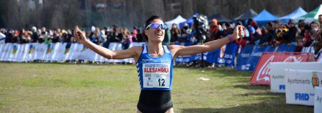 Ayad Lamdassem y Alessandra Aguilar ganan en Valladolid