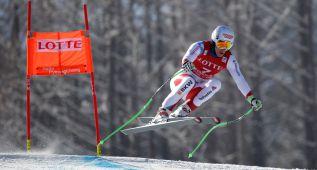 El suizo Carlo Janka arrasa en el supergigante de Jeongseon