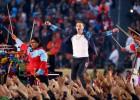Imágenes de la Super Bowl 2016: El show del descanso