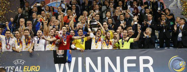 España vuelve a reinar en Europa... y ya van siete títulos