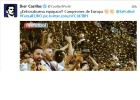 La Roja se vuelca: felicitación de Casillas, Ramos, Iniesta...