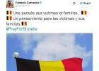 El deporte muestra su repulsa ante los atentados de Bruselas