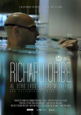 Emotivo estreno de la película del nadador Richard Oribe