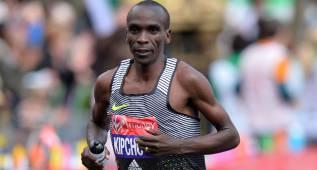 Kipchoge ganó en Londres y se queda a 8'' del récord mundial