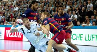 El Barça (29-24 en Kiel) está al borde de la eliminación