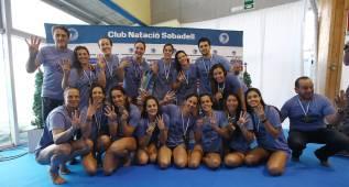 El CN Sabadell es otra vez el mejor equipo de Europa