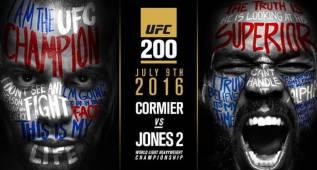 Jones-Cormier, plato principal del UFC 200; McGregor, fuera