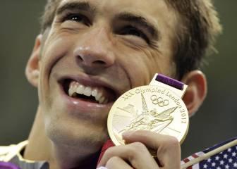 Según un estudio, en Río Phelps ganaría seis medallas más