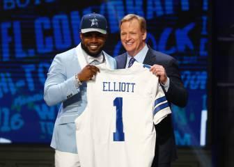 Los Ohio State Buckeyes dominan el draft de la NFL