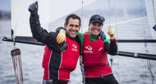 Fernando Echávarri y Tara Pacheco, oro en Hyères