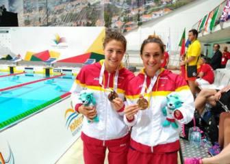España gana seis medallas en las primeras finales en Funchal