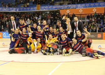 El hockey patines puede salvar el mal año europeo del Barça