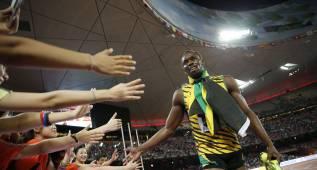 Bolt corre más lento comiendo verduras que 'comida basura'