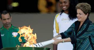 """Rousseff: """"Brasil organizará los mejores Juegos del mundo"""""""