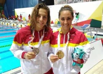 Sarai Gascón e Israel Oliver se cuelgan el oro en el Europeo