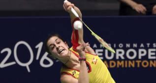 Carolina Marín y Pablo Abián representarán a España en Río