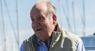El rey Juan Carlos, en la Gaastra PalmaVela con el 'Lionheart'