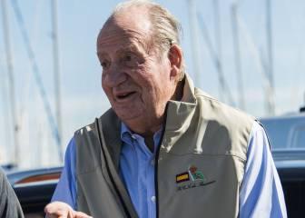 El rey Juan Carlos inaugura la XIII Gaastra PalmaVela