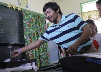 Pacquiao gana en las urnas la plaza en el Senado de Filipinas