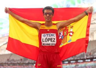 Oficial: Miguel Ángel López doblará en 20 y 50 km en Río