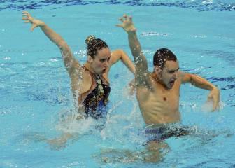 El dúo mixto de 'sincro' ya da éxitos para España: bronce