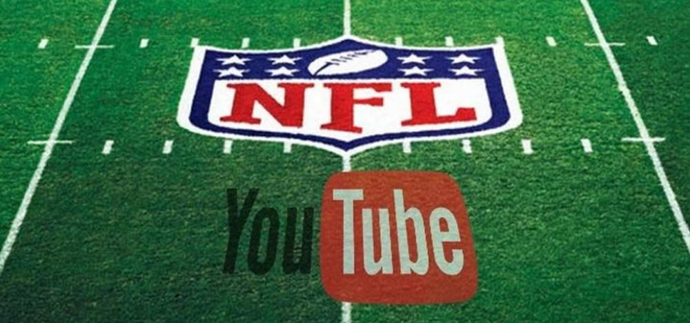 La NFL transmitirá partidos históricos en YouTube