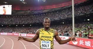 Bolt regresa en las Islas Caimán tras su épico oro mundialista