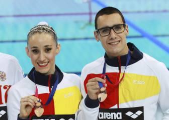 Cierre de bronce para el dúo mixto y el equipo en Londres