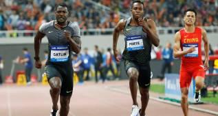 Gatlin gana con 9.94 y destroza al líder mundial de 100 metros