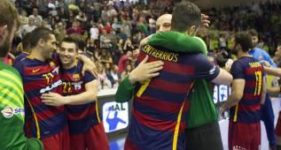 37-27. Barça celebra tres años seguidos sin perder en la Liga