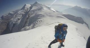 El alavés Alberto Zerain logra alcanzar la cima del Dhaulagiri