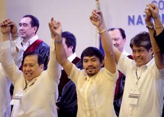 Pacquiao entra en la Cámara Alta del Congreso filipino