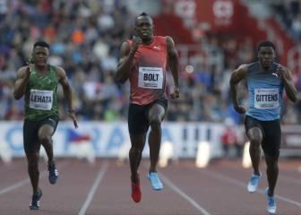 Usain Bolt baja por primera vez de 10.00 esta temporada: 9.98