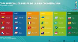 España se medirá a Marruecos, Irán y Azerbaiyán en el Mundial