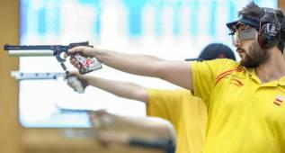 Pablo Carrera, oro en Pistola 50M en la Copa del Mundo