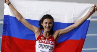 Anna Chicherova, entre los posibles dopados en 2008