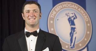Jon Rahm logra su segundo premio Ben Hogan consecutivo
