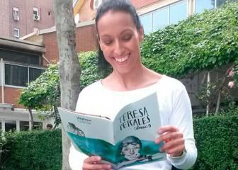Teresa Perales se convierte en heroína de su propio cómic