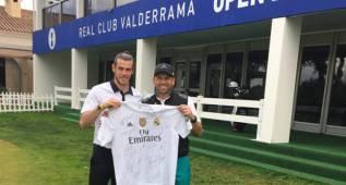 Bale felicitó el Byron Nelson a Sergio García, quien irá a Milán