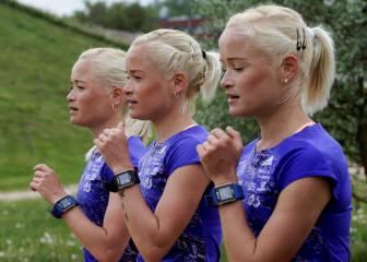 Las trillizas estonias que correrán en Río 2016