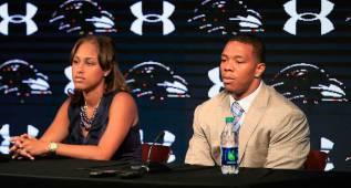 Ray Rice da lecciones de moral a los rookies de los Ravens