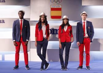 Nuestros olímpicos ya lucen las nuevas equipaciones para Río 2016