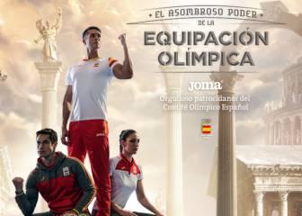 Joma adelanta en su web el diseño de la ropa para Río