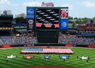 El Memorial Day deja grandes imágenes en la MLB