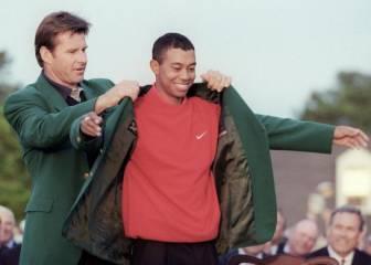Tiger Woods saca un libro de su primer triunfo en Grand Slam