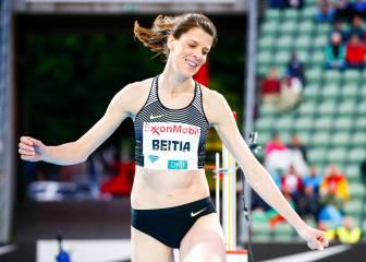 Ruth Beitia gana la Diamond de Oslo
