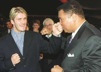 David Beckham asistirá al funeral de Muhammad Ali